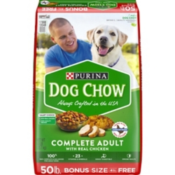 50 lb. Bonus Bag Purina Dog Chow Dry Dog Food - Tractor Supply Co.