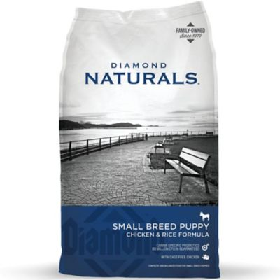 Diamond Naturals Small Breed Puppy Dog Food, 18 lb. Bag