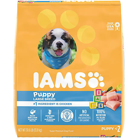 Iams Proactive Health Smart Puppy Large Breed Dry Puppy Food, 30.6 lb.