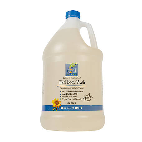 eZall Total Body Wash, 1 gal.