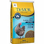 DuMOR Poultry Layer 16% Crumble, 50 lb.