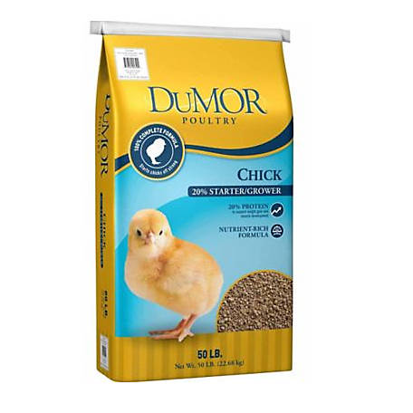 DuMOR Chick Starter/Grower 20% Feed, 50 lb., 46487