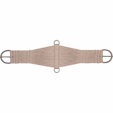 Weaver Leather Natural Mohair Blend 27 Strand Roper Cinch, 36 in.