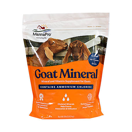 Manna Pro Goat Mineral Supplement, 8 lb., 1000325