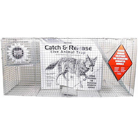 CountyLine Catch and Release Live Animal Trap, 58 in. x 17 in. x 26 in.