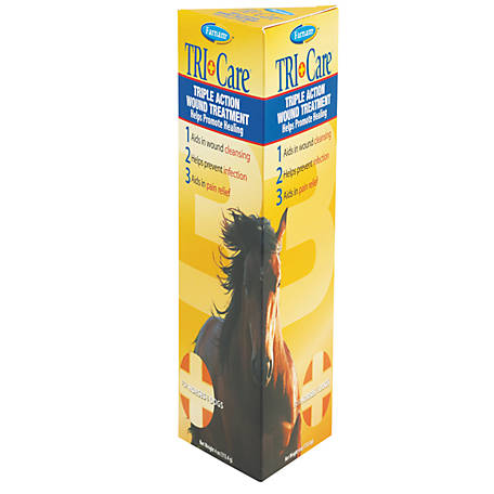 Farnam TRI-Care Triple Action Wound Treatment, 4 oz.