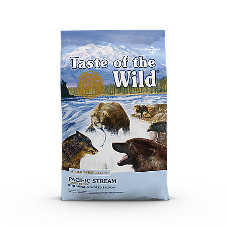 Taste of the Wild Pacific Stream Canine Formula with Smoked Salmon Dog Food, 28 lb. Bag