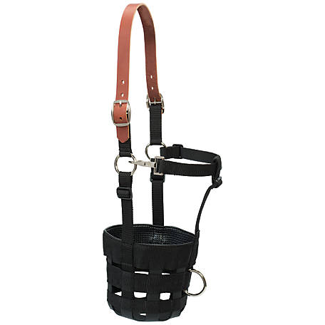 Weaver Leather Grazing Muzzle, Average