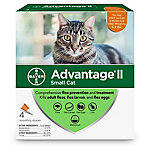 Advantage II for Cats, 5-9 lb., 4 Month Supply