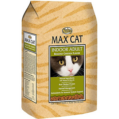 Nutro Max Indoor Cat Chicken Adult Dry Cat Food, 16 lb. Bag