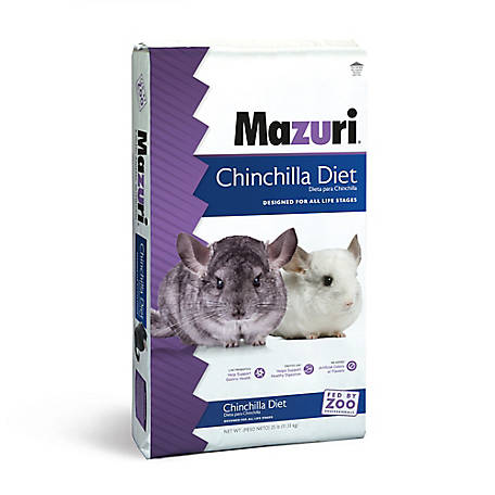 Mazuri Chinchilla Diet, 25 lb., 1471