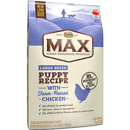 Nutro Max Natural Puppy Dry Dog Food, 25 lb. Bag