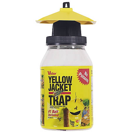 Victor Poison Free Poison-Free Reusable Yellow Jacket & Flying Insect Trap, M362/M364