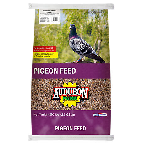 Audubon Park Pigeon Feed with Popcorn, 50 lb.