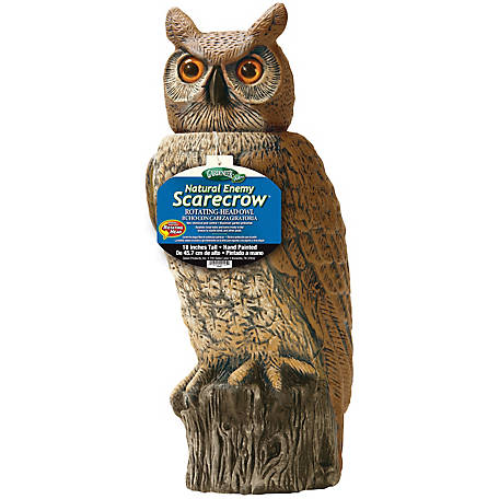 Dalen Rotating Head Owl, Natural Enemy Scarecrow at Tractor Supply Co