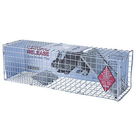 CountyLine Live Animal Cage Trap, 24 in. x 7 in. x 7 in.