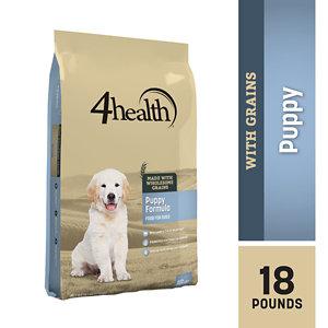 4health Puppy Food >> 4health Puppy Formula Dog Food, 18 lb. Bag at Tractor Supply Co.