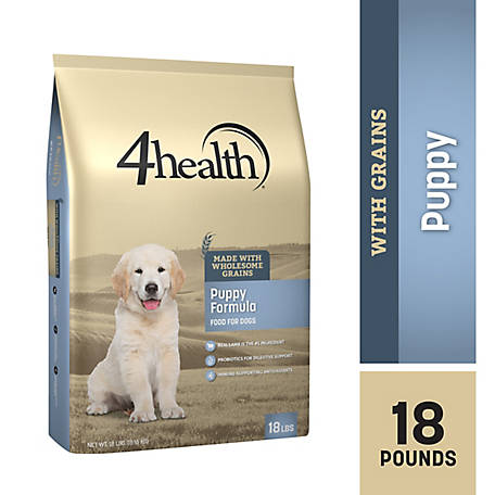4health Original Puppy Formula Dog Food, 18 lb. Bag