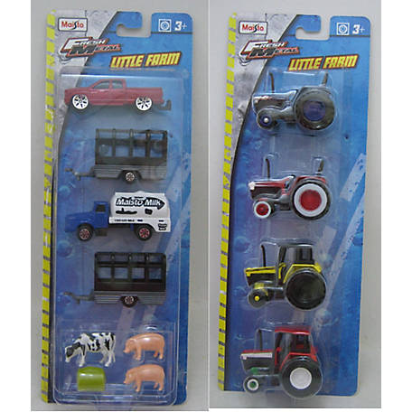 Maisto 3 in. Vehicles Farm Set