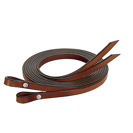 Weaver Leather Bridle Leather Split Reins, 5/8 in. x 7 ft.