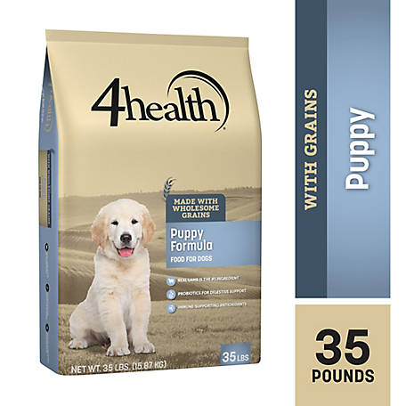 4health Original Puppy Formula Dog Food, 35 lb  Bag at Tractor Supply Co