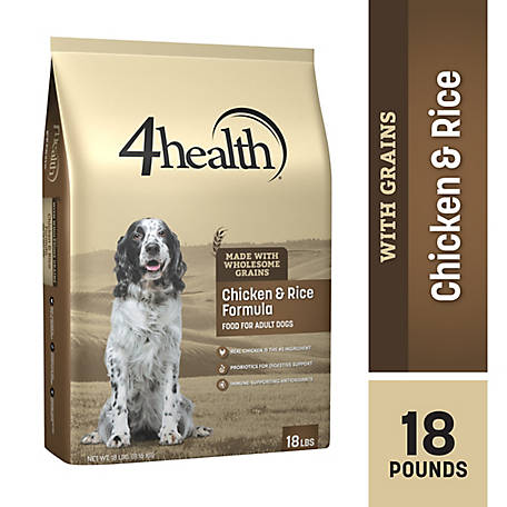 4health Original Chicken & Rice Formula Adult Dog Food, 18 lb. Bag