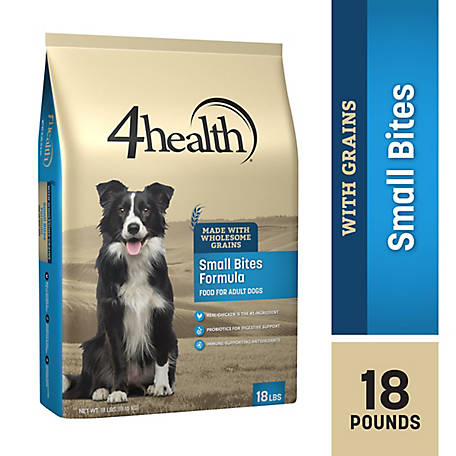 4health Original Small Bites Formula Adult Dog Food, 18 lb. Bag