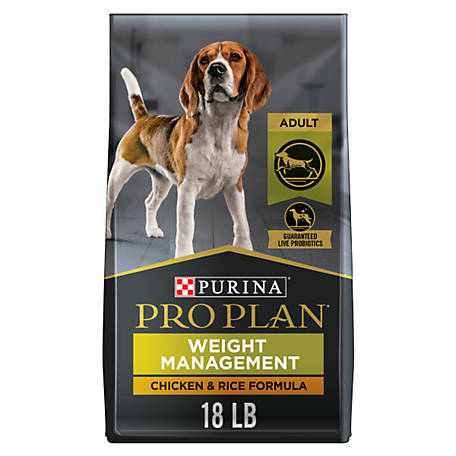 Purina Pro Plan Focus Adult Weight Management Formula Dog Food, 18 lb. Bag