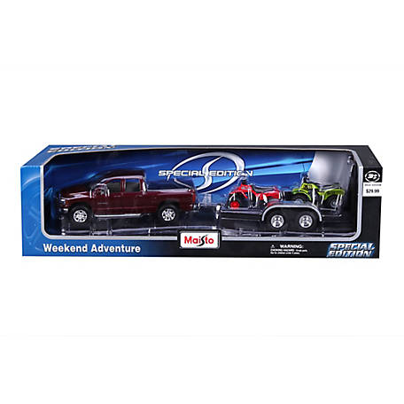 Maisto 1:24 Diecast Weekend Adventure, 32937