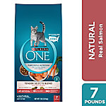 Purina One Tender Selects Blend with Real Salmon Adult Dry Cat Food, 7 lb. Bag