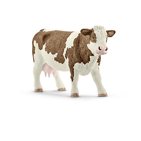 Schleich Simmental Cow Figurine, 13801