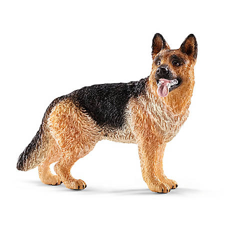 Schleich Female German Shepherd Figure