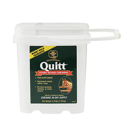 Farnam Quitt Wood Chewing Supplement, 3-3/4 lb.