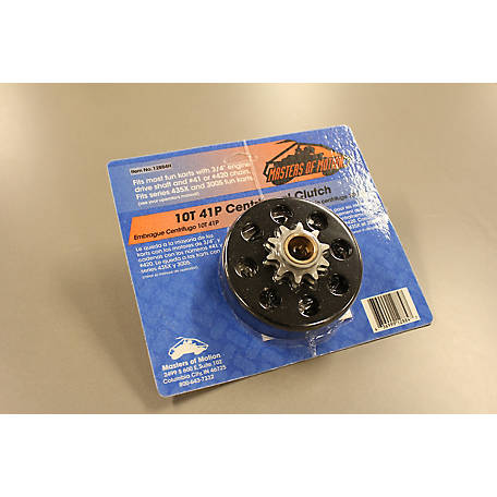Masters of Motion Centrifugal Clutch, 10T 41P, 12884H at Tractor Supply Co
