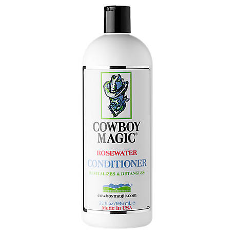 Cowboy Magic Rosewater Conditioner, 32 oz.