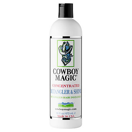 Cowboy Magic Detangler and Shine Hair Detangler