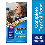 Purina Cat Chow Cat Chow Complete Adult Dry Cat Food, 6.3 lb. Bag