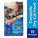 Purina Cat Chow Cat Chow Complete Cat Food, 15 lb. Bag