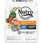 Nutro Wholesome Essentials Large Breed Adult Chicken, Whole Brown Rice, & Sweet Potato Recipe, 30 lb. Bag
