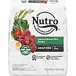 Nutro Natural Choice Limited Ingredient Diet Adult Dog Food, Lamb Meal & Rice Formula, 30 lb.