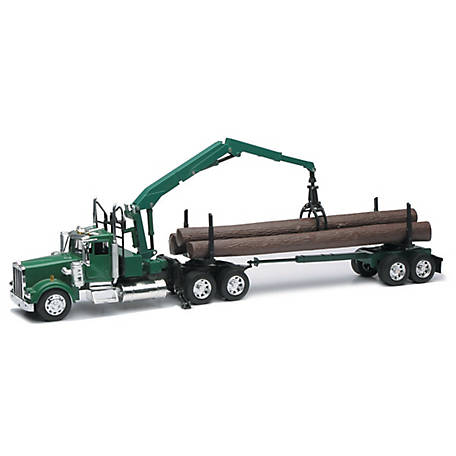 New-Ray Logging Truck and Trailer Set, AS-13133C