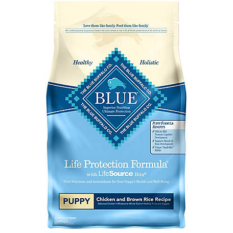 Blue Buffalo Life Protection Life Protection Formula Chicken and Brown Rice Recipe For Puppies Dog Food, 6 lb.