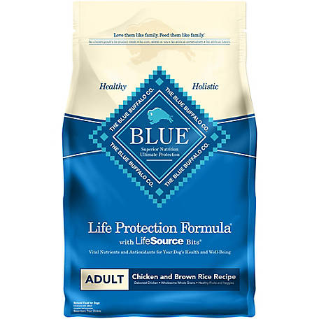 Blue Buffalo Life Protection Formula Chicken and Brown Rice Recipe Adult Dog Food, 6 lb.