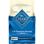 Blue Buffalo Life Protection Formula Chicken and Brown Rice Recipe Adult Dog Food, 6 lb. Bag