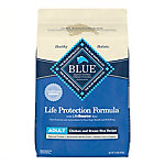 Blue Buffalo Life Protection Formula Chicken and Brown Rice Recipe Adult Dog Food, 15 lb. Bag
