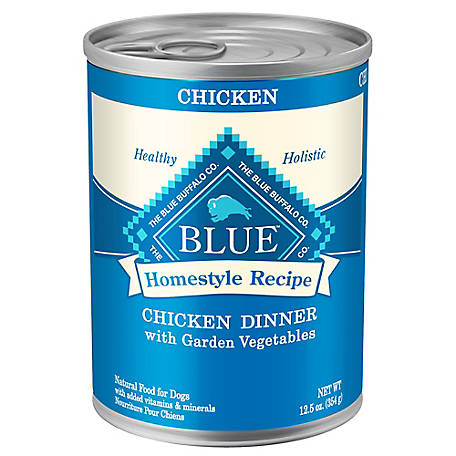 Blue Buffalo Homestyle Recipe Chicken Dinner with Garden Vegetables Wet Dog Food, 12.5 oz.