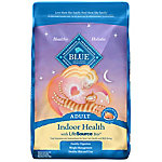 Blue Buffalo Blue Indoor Health Adult Chicken & Brown Rice Recipe Dry Cat Food, 15 lb. Bag