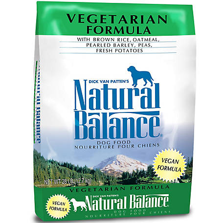Natural Balance Vegetarian Formula Dry Dog Food, 28 lb.