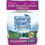 Natural Balance L.I.D. Limited Ingredient Diets Sweet Potato & Venison Formula Dry Dog Food, 4.5 lb. Bag
