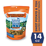 Natural Balance L.I.T. Limited Ingredient Treats Sweet Potato and Fish Formula Dry Dog Treats, 14 oz.